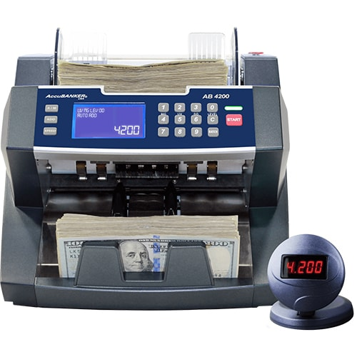 1-AccuBANKER AB 4200 UV/MG seddeltæller