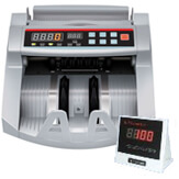 Cashtech 160 UV/MG seddeltæller