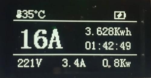 4-EV EVSE Type1 (max. 16A) EV Ladekabel