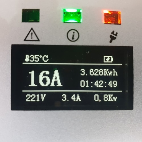 3-EV EVSE Type2 (max. 16A) EV Ladekabel
